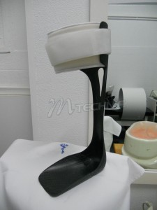 carbon drop foot splint 1